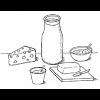 Alimentos en la Biblia: productos lácteos