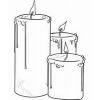 Fabricación de velas